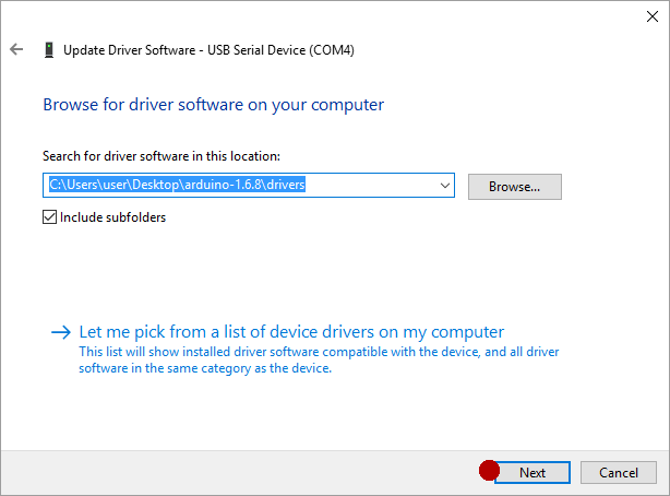 How to install arduino software and drivers on windows