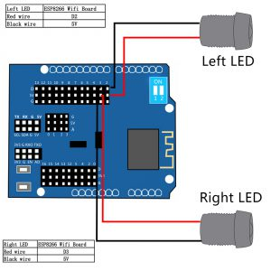 LED-ESP8266 Board
