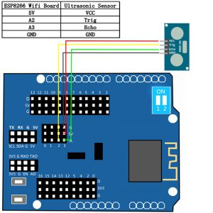 UltrasonicSensor-ESP8266
